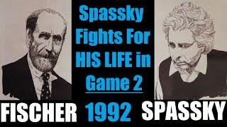 Game 2: Fischer vs Spassky (1992)