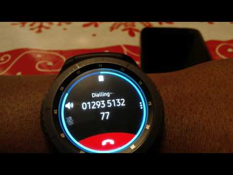 Samsung Gear S3 Review - S Voice, phone calls, handwriting i