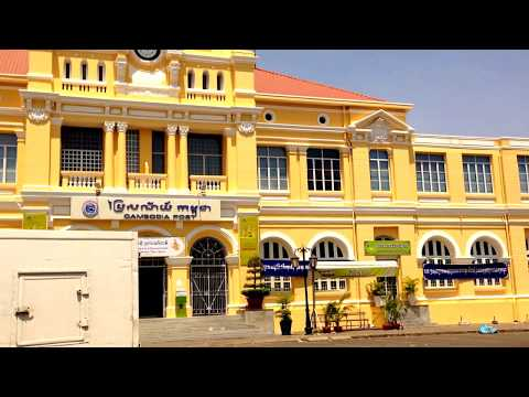 Wonderful Post Office, Phnom Penh, Cambodia - A French Colonial Designs