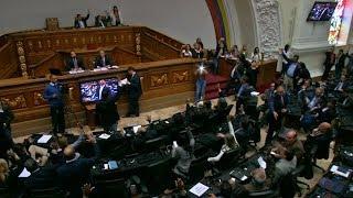 Venezuela: el Parlamento declaró usurpador a Maduro