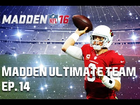 CARSON PALMER THROWING DOTS! - Madden 16 Ultimate Team Ep. 14