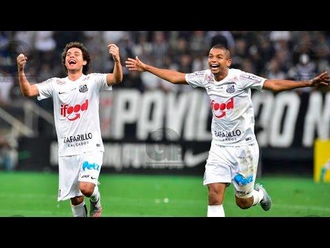 Corinthians 1 x 2 Santos | MELHORES MOMENTOS | Copa do Brasil (26/08/15)