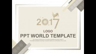 디자인 그래픽 PPT 템플릿 새해 연하장(자동완성형포함…
