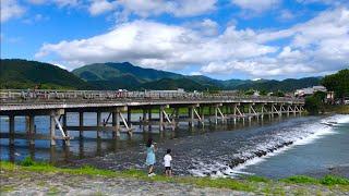 2019年9月8日 日 秋の風 京都嵐山の風景🌟Arashiyama Kyoto ✨ 岚山🌱【4K】
