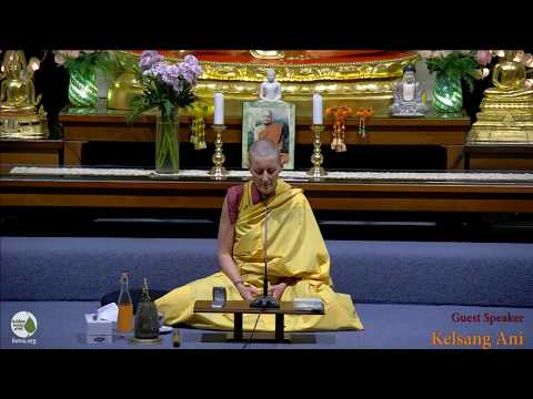 How To Solve Our Human Problems | Kelsang Ani | 19 October 2018