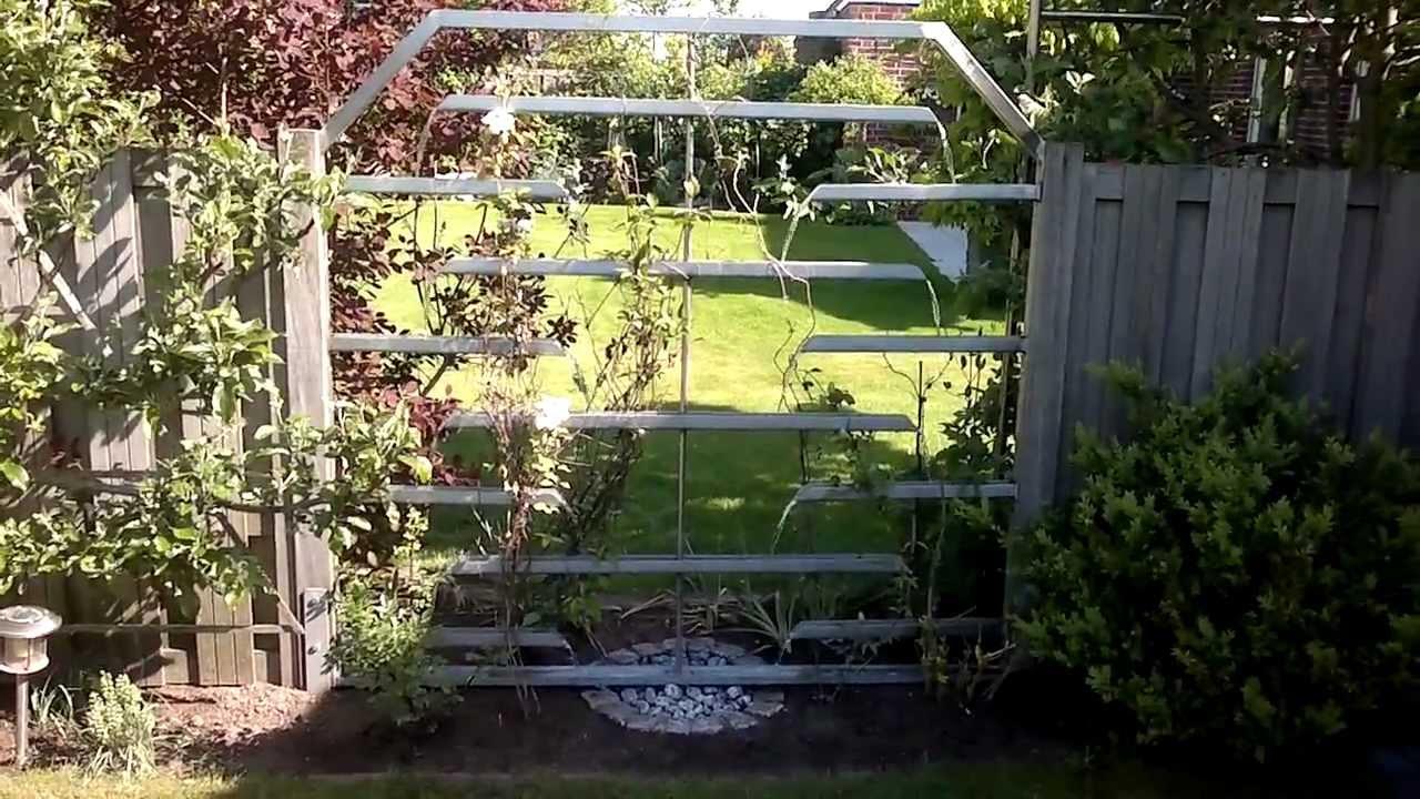 Zaun Wasserlauf Wasserspiel Edelstahl