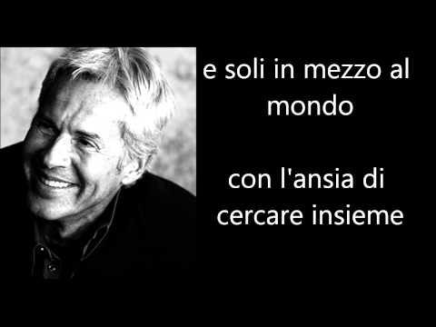 Claudio Baglioni - La Vita E' Adesso Testo Lyrics