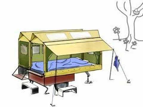 fiets caravan youtube. Black Bedroom Furniture Sets. Home Design Ideas