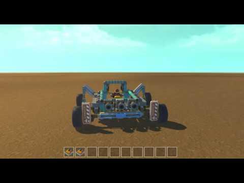 Scrap Mechanic Developer Demo Car
