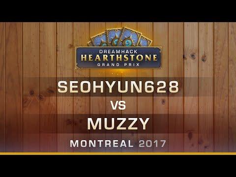 Seohyun628 vs Muzzy - Grand-final - Hearthstone Grand Prix DreamHack Montreal 2017