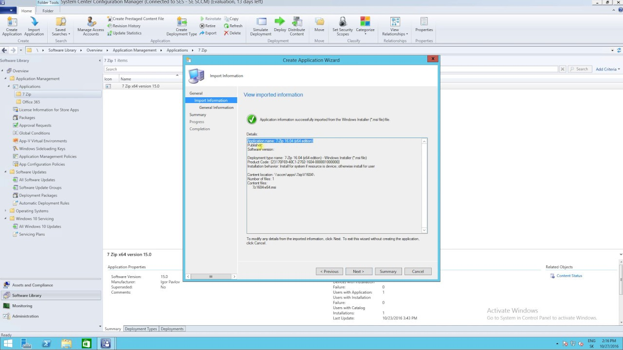 SCCM 2016 - How supersede and automatic uninstall older version of  application