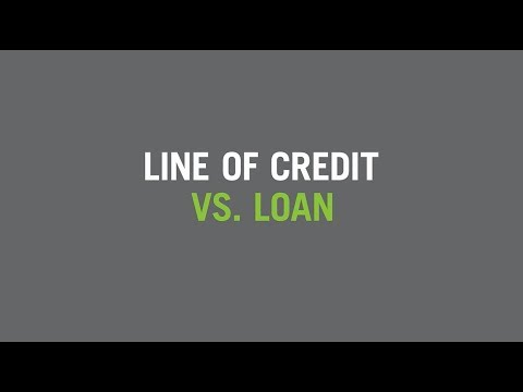 Personal Line of Credit vs. Personal Loan - YouTube