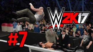 WWE 2K17 - Прохождение на русском - часть 7 - Легендарный режим сложности - Смотреть до конца