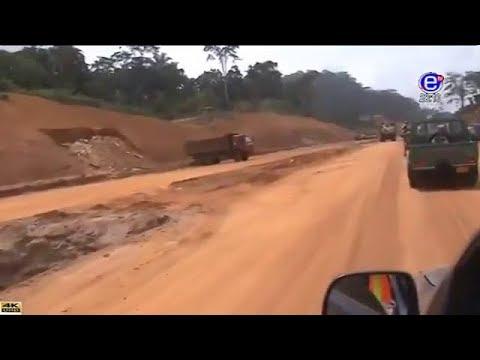 EQUINOXE TV - JT 20H00 (Contruction de l'autoroute Douala-Yaoundé encore en arret) du 16/04/2018
