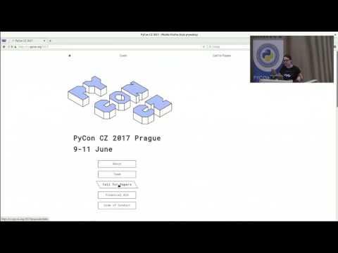 Image from Lightning talks: PyCon CZ