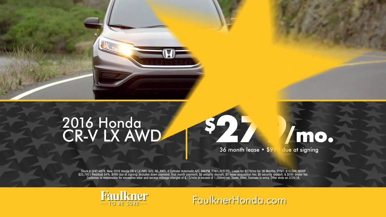 Faulkner Honda of Harrisburg Presidents Day Event
