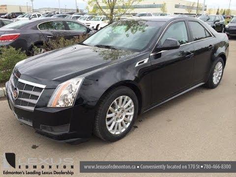 Pre Owned Black on Black 2011 Cadillac CTS Sedan - St.Albert ...