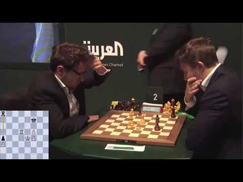 Top 7 FaNTaSTiC  Endgame with Magnus Carlsen in World Chess Blitz Championship 2017