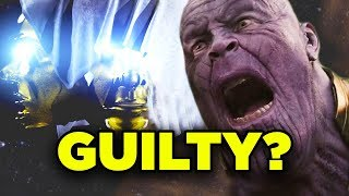 THANOS NIGHTMARE TRIAL Deleted Scene! Avengers Endgame & Infinity War Removed Sequence Explained!