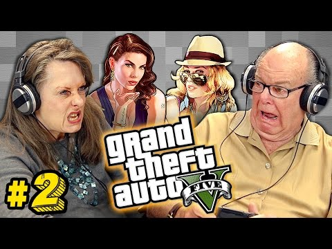 Elders Play Grand Theft Auto Elders React Gaming