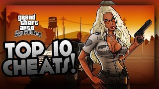 GTA San Andreas-Top 10 Most Fun Cheatcodes(Best GTA SA Cheats PC)