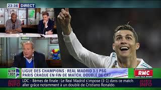After Foot du mercredi 14/02 – Partie 3/7 - Évaluation de Real Madrid/PSG (3-1)