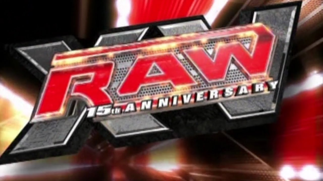 WWE Monday Night Raw 15th Anniversary TV Show Intro Video [HD]
