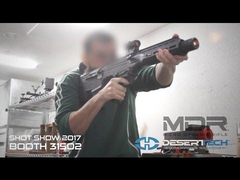 MDR Testing Footage Compilation SHOT Show 2017