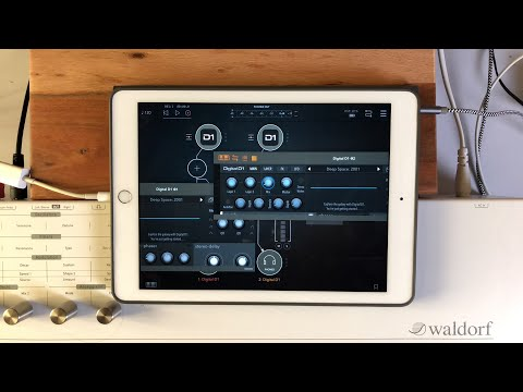 AudioKit Digital D1 AUv3 - Live Demo for the iPad