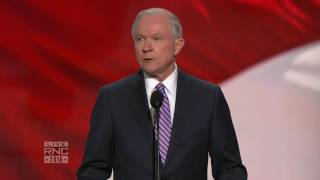 The Honorable Jeff Sessions | 2016 Republican National Convention Live Free HD Video