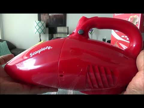 Dirt Devil Scorpion Corded Handheld Vacuum  Review best cordless handheld vacuum