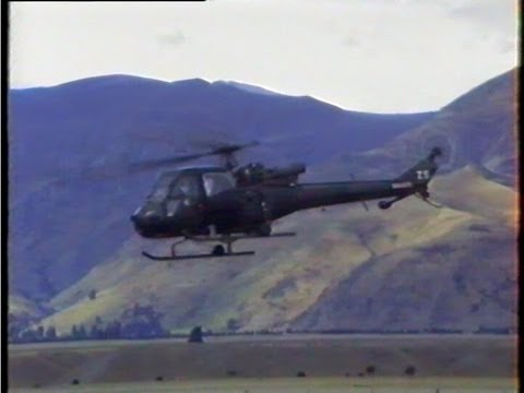 Westland Scout Helicopter Display & Auction New Zealand 1996