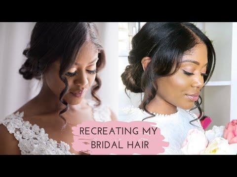 recreating-my-wedding-hair-👰🏾-spilling-the-wedding-tea-|-healthy-hair-junkie