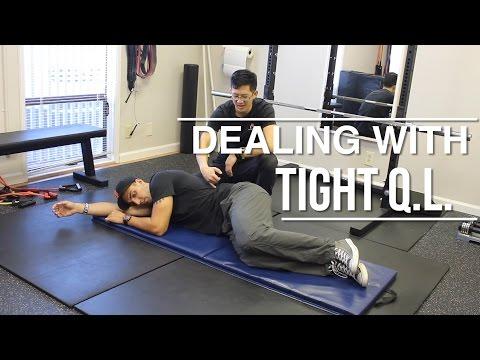 How to deal with a tight Q.L. (quadratus lumborum)