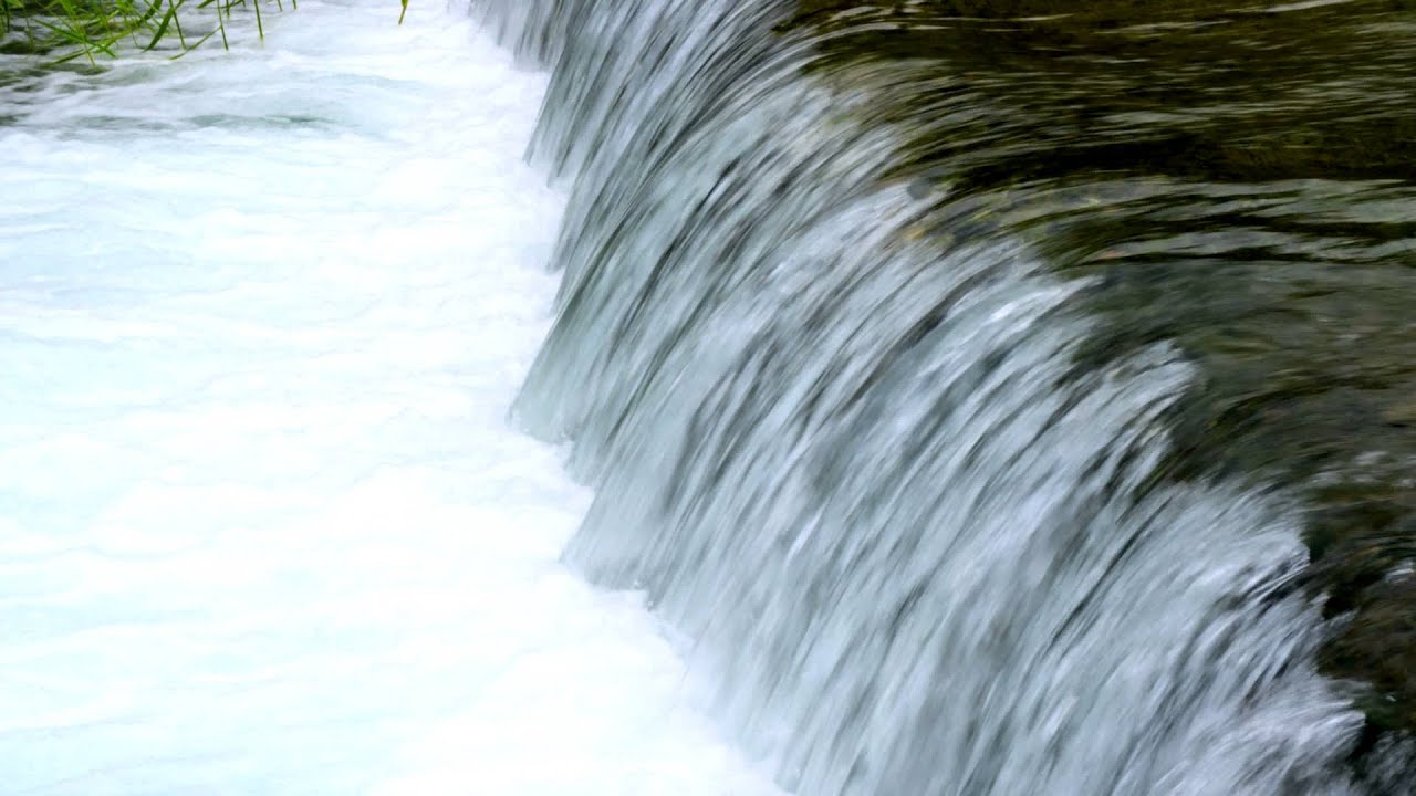 Royalty Free Stock Video Footage Of Flowing Water From