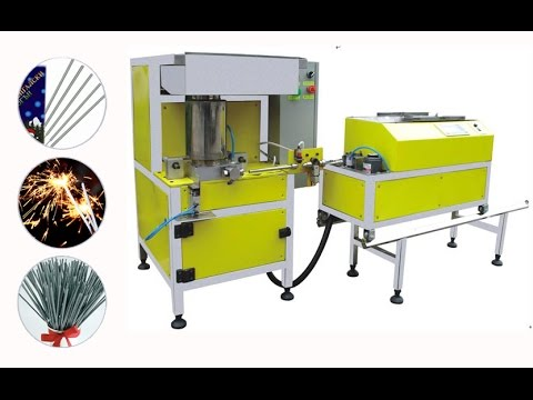 fully automatic sparklers maker
