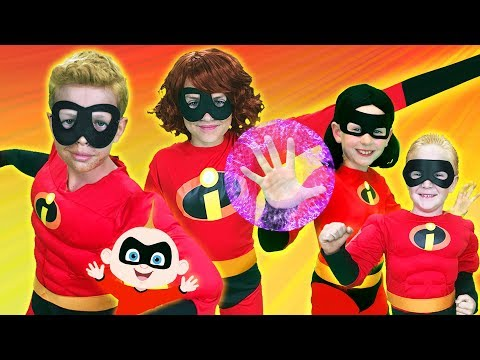Incredibles Finger Family | WigglePop thumbnail