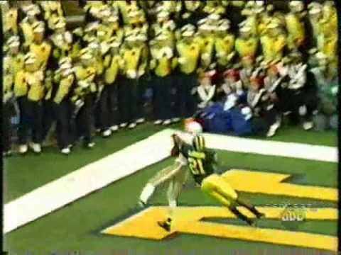 Santonio Holmes vs Michigan Part One