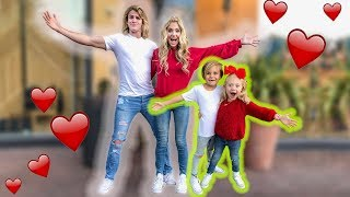 VALENTINES DAY DOUBLE DATE WITH MINI COLE AND SAV!!! thumbnail