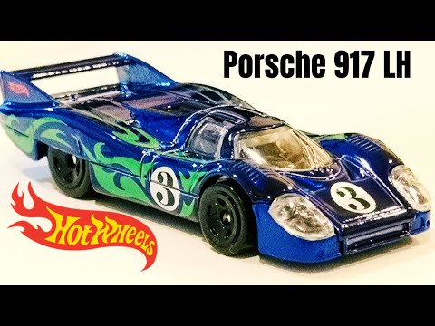 HOT WHEELS Porsche 917 LH Casting Review