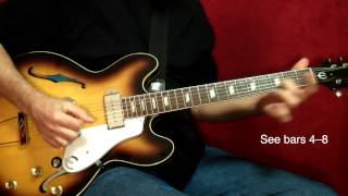 "How to Play ""Honky Tonk Women"" by The Rolling Stones on Guitar - Lesson Excerpt"