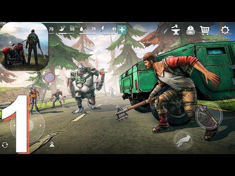 Dark Days: Zombie Survival - Gameplay Walkthrough Part 1 (Android, IOS Gameplay)