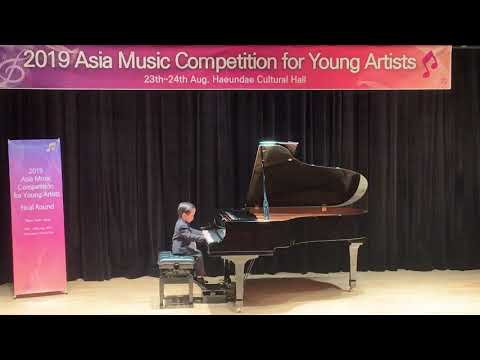 Asia Music Competition for Young Artist Busan 2019-K1- First Prize Winner - Suppakrit Payackso(Age5)