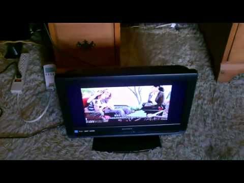 Solar Powered TV – powered by DIY solar power system – easy to make