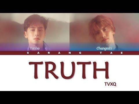 TVXQ (동방신기) - 'Truth' Lyrics [Color Coded_Han_Rom_Eng]