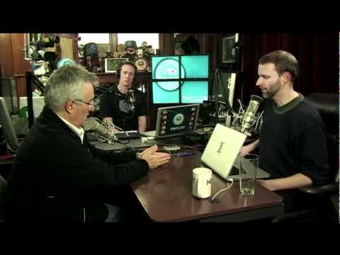 Leo Laporte signs the lease for the new TWiT studio!