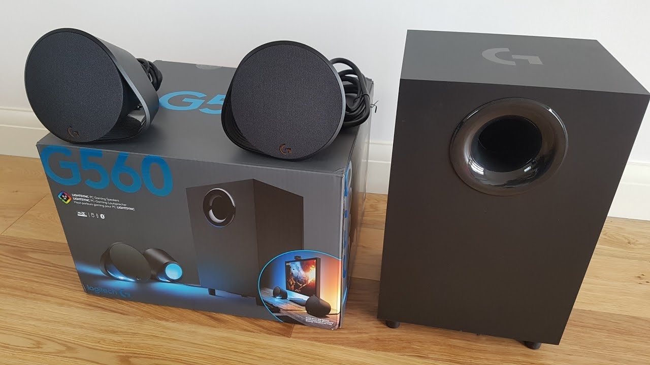 BEST PC GAMING SPEAKERS - Logitech G560 [Unboxing and Complete Setup]