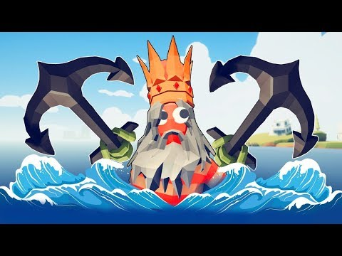 TABS - The SEA KING RISES From The Depths With His Epic Power! - Totally Accurate Battle Simulator
