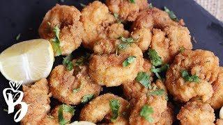 طريقة الربيان المقلي | Fried Shrimp