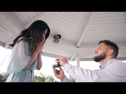 THE MOST BEAUTIFUL PROPOSAL EVER!!! (he proposed after 5 years)